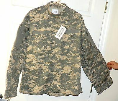 Mens XL ripstop camouflage Jacket cotton poly  wind resistan