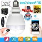 Mini Security IP Camera 360° Panoramic SPY Hidden 1080P Wif