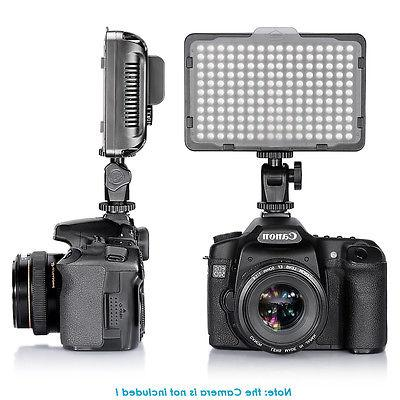 Neewer Photo Studio 176 LED Dimmable on Camera Video Light f
