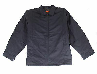 new black mens size xl quilted lined