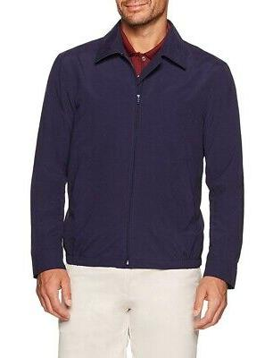 new blue mens size xl water resistant