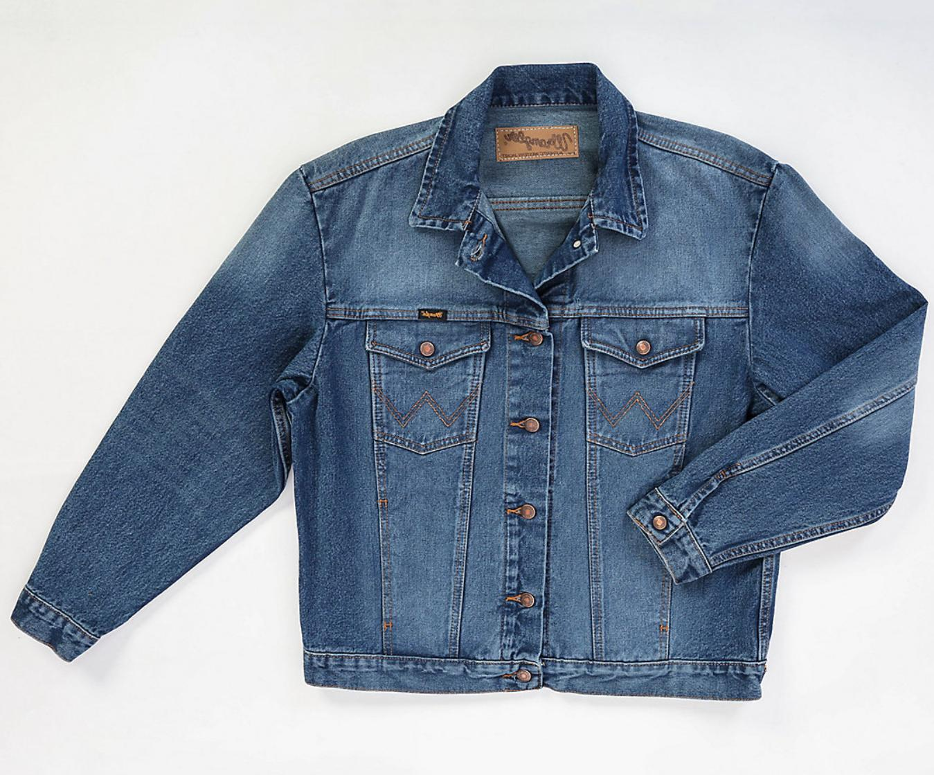new cowboy cut denim jacket men s
