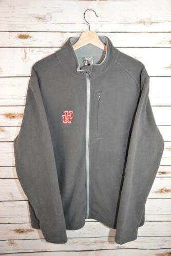 NEW LevelWear Men's Large Gray University Of Houston Alpine