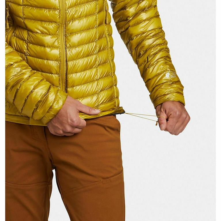 NEW! MOUNTAIN HARDWEAR Men's Gold Jacket