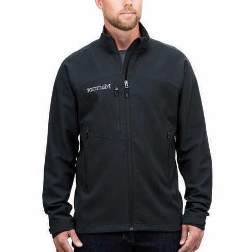 new mens bero softshell jacket windproof black