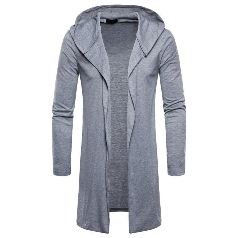 NEW Hooded Trench Coat Long USA