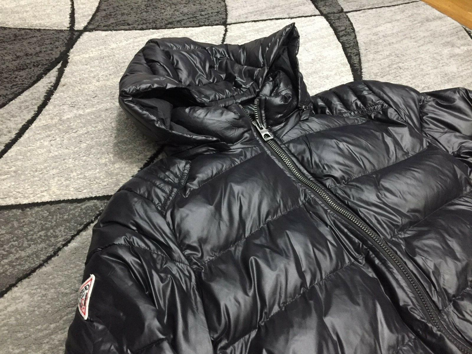 New Mens Guess Midweight Hooded - Size Large