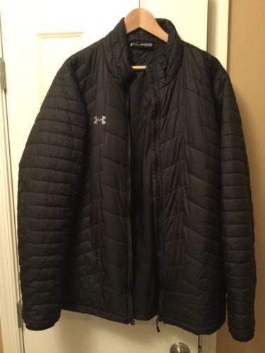 NWOT  Under Armour Men's ColdGear Reactor Insulated Jacket S