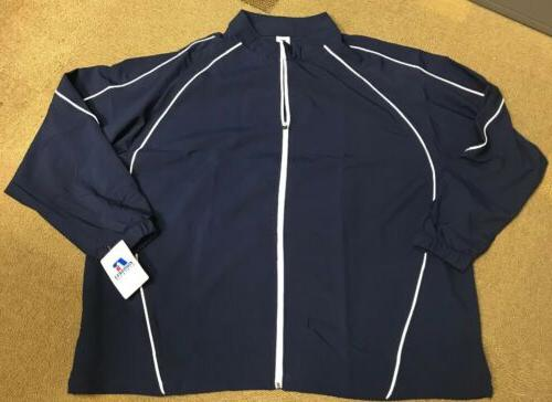 nwt mens size 3xl zip up wind