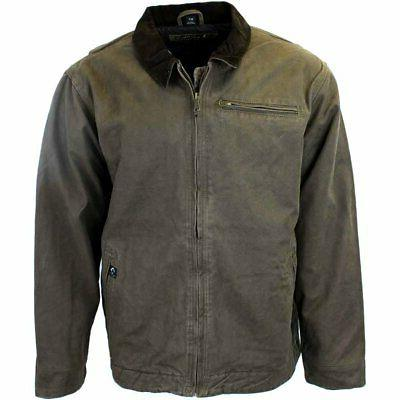 outlaw jacket brown mens size xxl