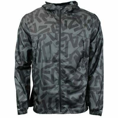 packable jacket athletic outerwear grey mens