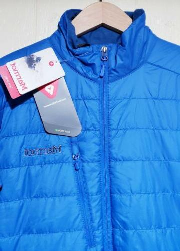 Marmot Primaloft Jacket Mens Medium NWT $150.00 Blue