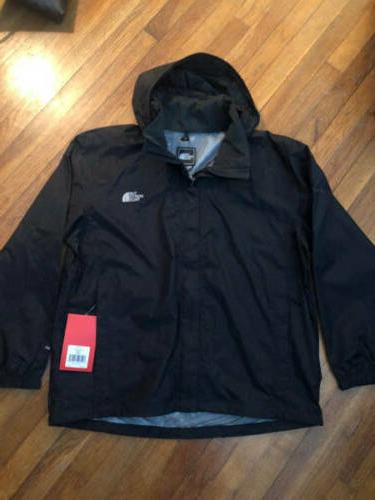 The North Face Resolve Jacket Black Mens NWT Size: XL