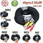 Security Camera Video Surveillance Cable + Power Cord CCTV B