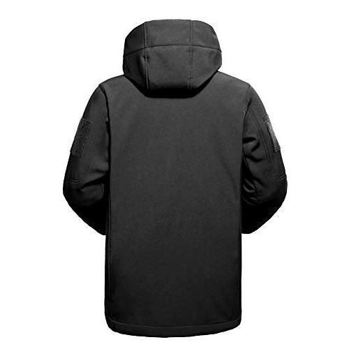 Flying Softshell Lined Water Repellent Coat