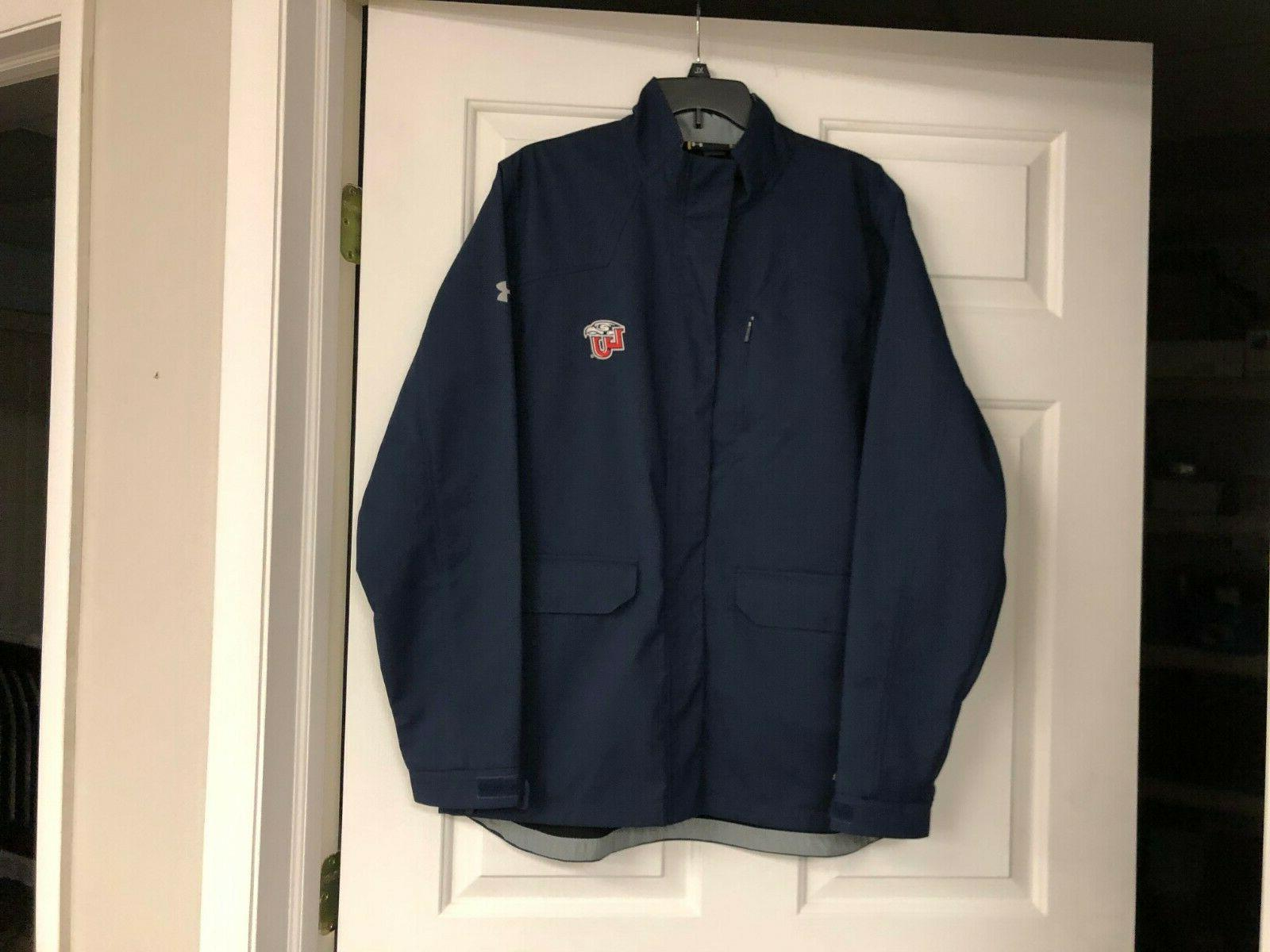 storm liberty university navy jacket coat men