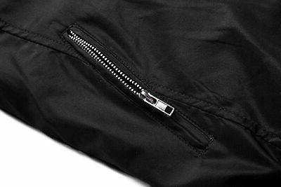 Tanming Color Slim Casual Lightweight Bomber