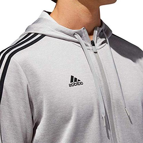 adidas Men's Zip Fleece Hoodie Hooded