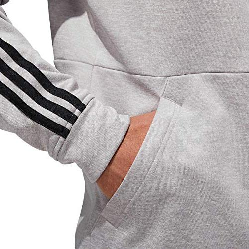adidas Men's Tech Full Zip Fleece Hooded Jacket
