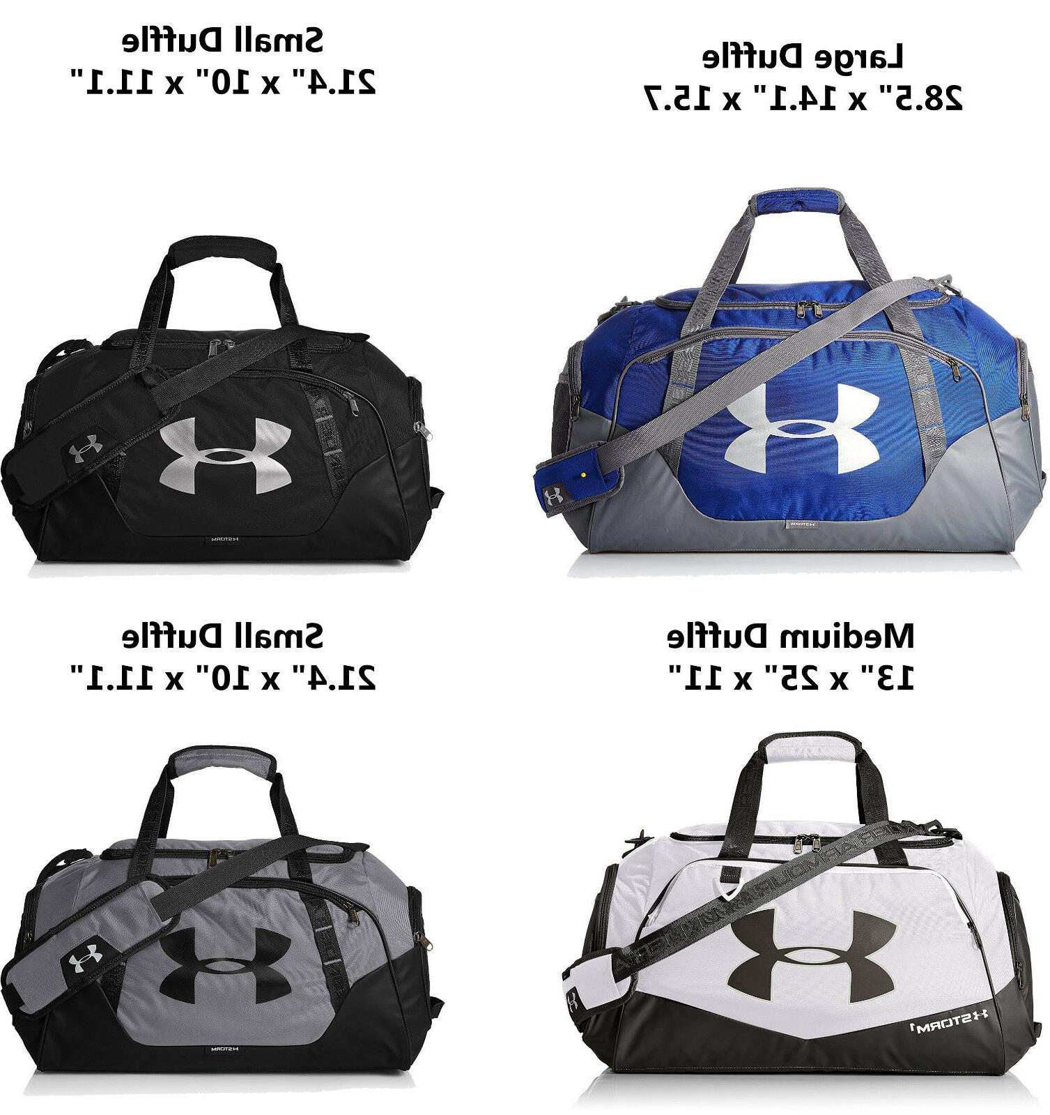 Under Armour Undeniable 3.0 Duffle Bag Small/Medium/Large Pi
