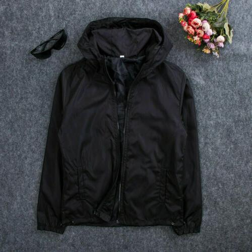 US Hooded Outdoor Camping Outwear Rain Coat