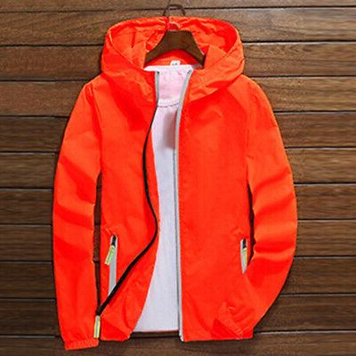 US ZIPPER Jacket Light Sports Coat
