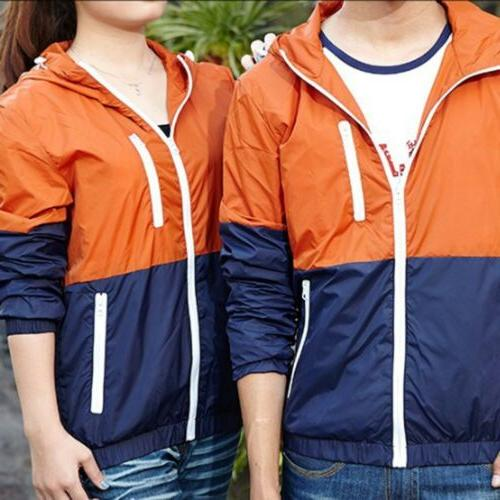 US Windbreaker Zipper Jacket Sport
