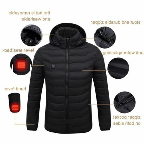 USB Clothes Jacket Outdoor Thermal Hunting