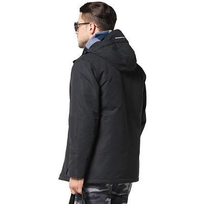 USB Hunting Vest Heated Coat Winter US
