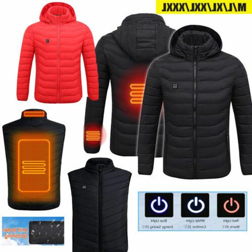 Heated Jacket Heating Winter Clothes Thermal