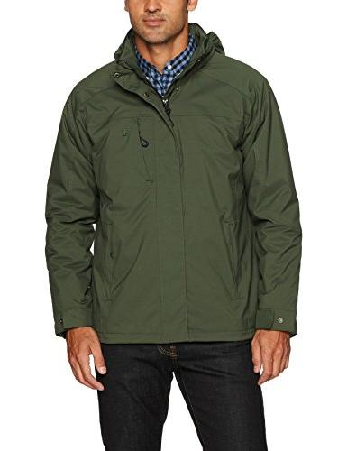 water resistant midweight jacket