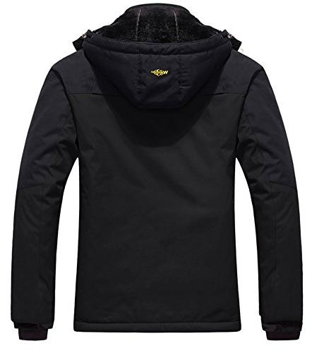 Wantdo Men's Jacket Fleece Jacket Black S