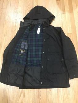 Barbour Land Rover Night Watch One Bell Waxed Rain Jacket Ra