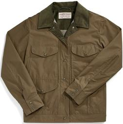 Filson Lightweight Dry Cloth Journeyman Jacket Marsh Olive M