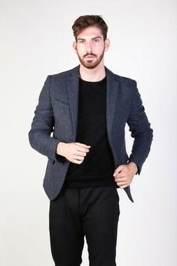 Made in Italia man's Clothing Formal jacket Blue outlet cool
