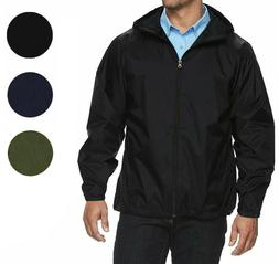 Maximos Men's Water Resistant Hooded Lightweight Windbreaker