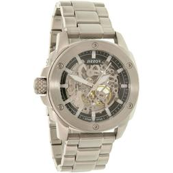 Fossil Men's ME3081 Silver Stainless-Steel Automatic Watch