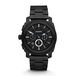 Fossil Men's FS4552 Machine Black Stainless Steel Chronograp
