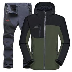 Men Hiking Clothing Winter Sports Jacket Windproof Outdoor M