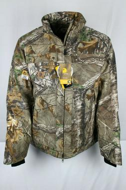 Carhartt Men's 101444 Quick Duck Camo Insulated Jacket XL Ta