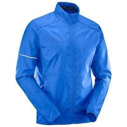 Salomon Men's Agile Wind Jacket - Nautical Blue