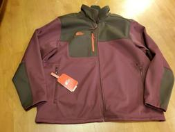 The North Face Men's Apex Risor Jacket, Brown /Burgundy/Oran