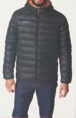 Eddie Bauer Men's Cirruslite Hooded Down Jacket Storm Gray N