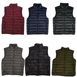 Men Polo Ralph Lauren DOWN FILLED Puffer Vest Jacket Packabl