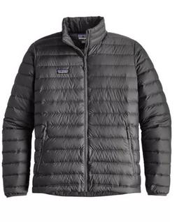 PATAGONIA MEN'S DOWN SWEATER  JACKET - FORGE GREY NWT $229