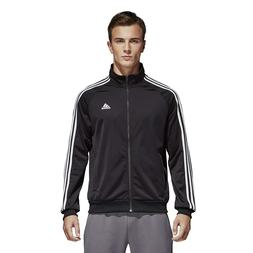 adidas Men's Essentials 3-Stripe Tricot Track Jacket ALL COL