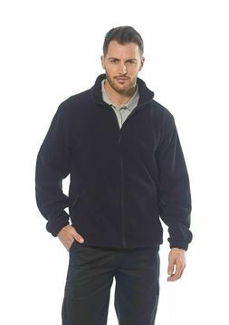Portwest UF205 Aran Outdoor Polyester Work Zipper Fleece wit