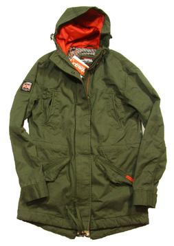 Superdry Men's Forest Night Green New Rookie Military Hooded