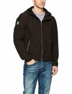 Tommy Hilfiger Men's Hooded Performance Soft Shell Jacket -