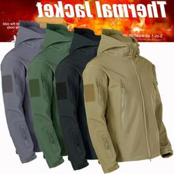 Men's Jacket Waterproof Hooded Outdoor Camping Windbreaker O